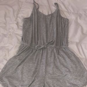Other - target grey and white romper